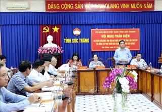 Trách nhiệm, tâm huyết đóng góp ý kiến vào văn kiện Đại hội Đảng bộ các cấp