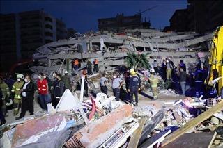 Động đất ở Thổ Nhĩ Kỳ và Hy Lạp: Thương vong tăng mạnh