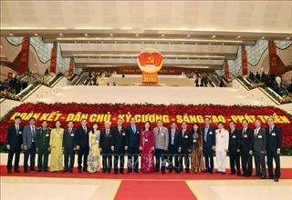 67 đoàn đại biểu tham dự Đại hội XIII của Đảng