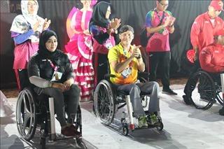 Bế mạc Asian Para Games 2018: VĐV Võ Thanh Tùng được biểu dương