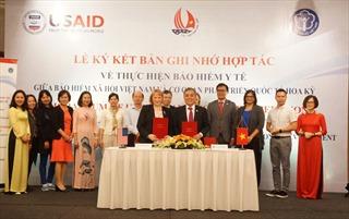 BHXH Việt Nam hợp tác cùng cơ quan Phát triển quốc tế Hoa Kỳ trong lĩnh vực bảo hiểm y tế