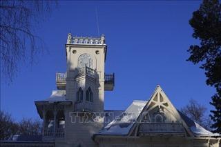 Vẻ đẹp cổ kính của những ngôi nhà hơn trăm tuổi ở Udmurtia