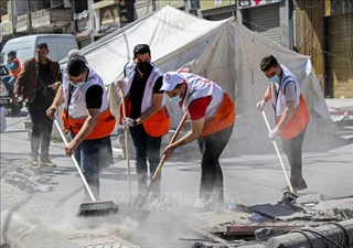 Xung đột Israel-Palestine: Dải Gaza yên bình trở lại
