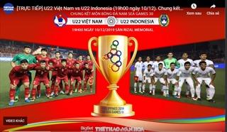 Nhận định chung kết SEA Games U22 Việt Nam - U22 Indonesia