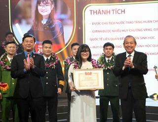 'Cô gái Vàng' môn Sinh học Nguyễn Phương Thảo: Chưa hài lòng dù đã bước lên đỉnh Olympia