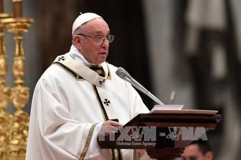 Giáo hoàng Francis kêu gọi thế giới 'không làm ngơ' trước những người di cư và người nghèo