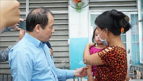 TP Hồ Chí Minh: Tiêm vét vắc xin sởi cho trẻ ở cả trường học lẫn bệnh viện