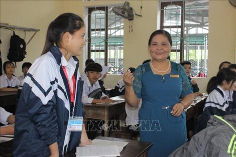 Chuyện cô giáo dạy môn phụ được học trò yêu thích