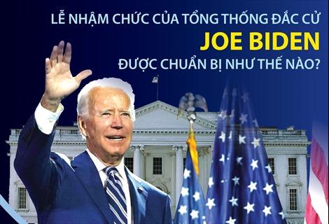 Lễ nhậm chức của Tổng thống đắc cử Joe Biden được chuẩn bị như thế nào?