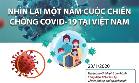 Nhìn lại một năm cuộc chiến chống COVID-19 tại Việt Nam