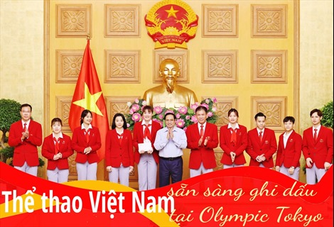 Thể thao Việt Nam sẵn sàng ghi dấu tại Olympic Tokyo