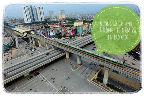 Đường sắt Cát Linh-Hà Đông: 10 năm và đến bao giờ?