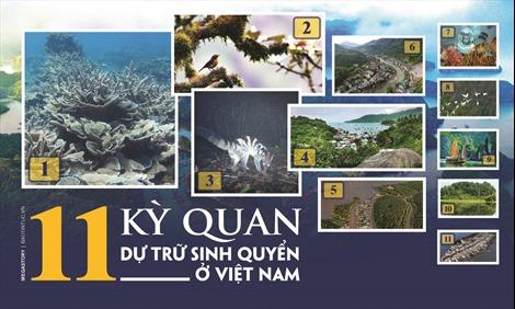 11 'kỳ quan' dự trữ sinh quyển ở Việt Nam
