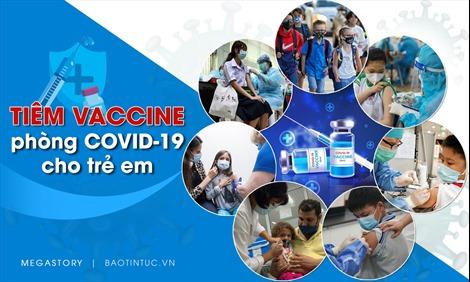 Tiêm vaccine phòng COVID-19 cho trẻ em