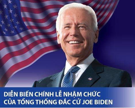 Diễn biến chính lễ nhậm chức của Tổng thống đắc cử Mỹ Joe Biden