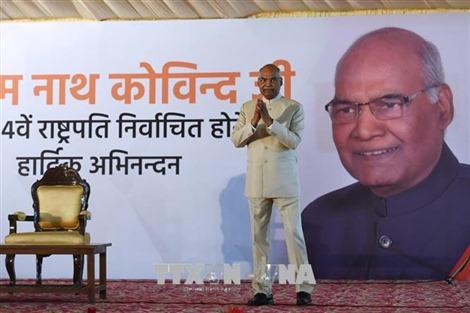 Tổng thống Ấn Độ Ram Nath Kovind bắt đầu thăm cấp Nhà nước Việt Nam
