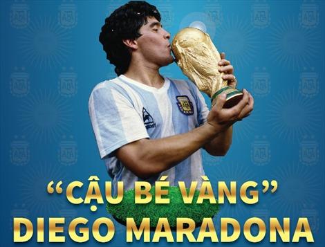 Vĩnh biệt huyền thoại Diego Maradona