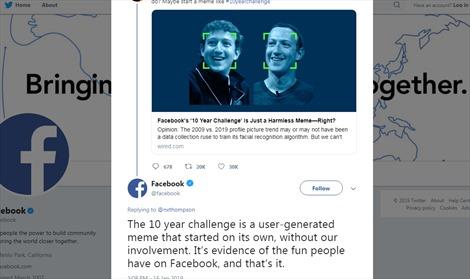 Trào lưu thách thức 10 năm: Người dùng hào hứng chia sẻ nhưng tiềm ẩn nguy cơ bị thu thập dữ liệu