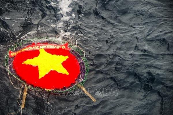 Lễ tưởng niệm các chiến sỹ anh dũng hy sinh tại quần đảo Trường Sa