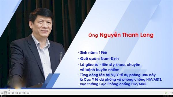 Ông Nguyễn Thanh Long giữ chức quyền Bộ trưởng Bộ Y tế