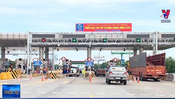 Chính thức thu phí không dừng cao tốc Hà Nội - Hải Phòng