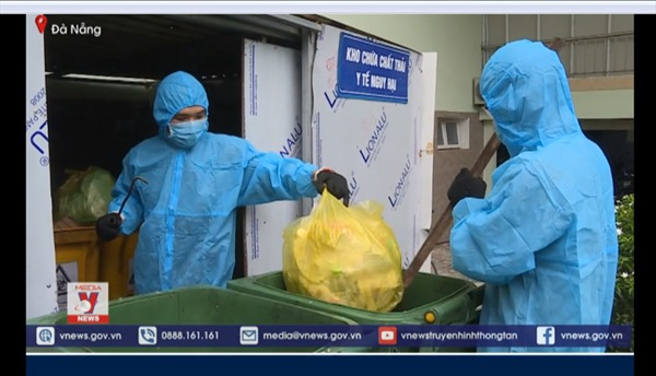 Từ tâm điểm Đà Nẵng: Xử lý rác thải y tế thời COVID-19