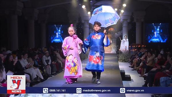 'Cô thợ may' miệt mài với áo dài Việt