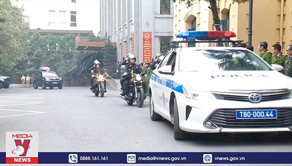 Hà Nội xuất quân bảo vệ Đại hội XIII của Đảng
