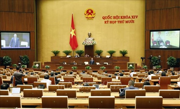 Thông cáo báo chí số 05 Kỳ họp thứ 10, Quốc hội khóa XIV
