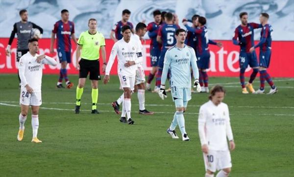 Real Madrid đang xa dần giấc mơ bảo vệ vô địch La Liga