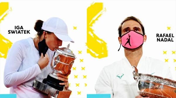 Roland Garros 2020: Những nhà vô địch tuyệt đối
