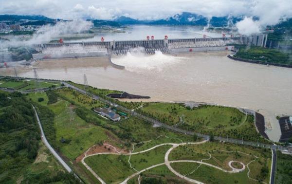 Nước sông dâng vượt mức cảnh báo lũ ở Trung Quốc
