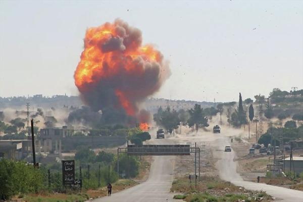 Đánh bom nhằm vào đoàn tuần tra của Nga và Thổ Nhĩ Kỳ
