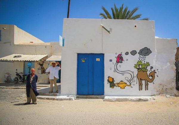 Đánh thức thị trấn cổ bằng nghệ thuật đường phố