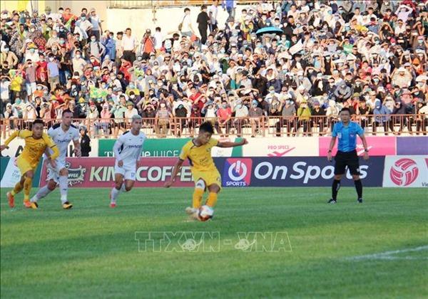Sông Lam Nghệ An xuất sắc giành chức vô địch U17 Quốc gia | baotintuc.vn