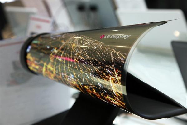 Màn hình OLED có thể cuộn của LG đoạt giải 'Màn hình của năm'