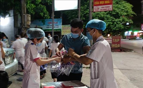 Bệnh viện Đa khoa thành phố Vinh tiếp nhận khám, điều trị bệnh nhân trở lại