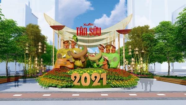 Ngắm những chú trâu 'thô' sẽ trưng bày ở đường hoa Tết Nguyễn Huệ