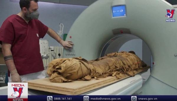 'Phẫu thuật ảo' xác ướp Ai Cập