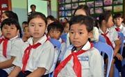 Con em Việt kiều tại Campuchia khai giảng năm học mới
