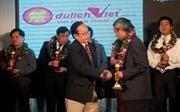 Trao giải Cúp vàng Top ten thương hiệu Việt - Ứng dụng khoa học và công nghệ