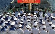 Lễ tưởng niệm các cán bộ, chiến sĩ hy sinh bảo vệ Trường Sa