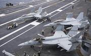 Không khí 'sẵn sàng' trên siêu tàu sân bay Mỹ tiến vào cửa ngõ Triều Tiên