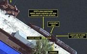 Lần đầu lộ ảnh Triều Tiên bí mật chế tạo 'tàu ngầm tên lửa đạn đạo'