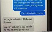 Hình ảnh, nội dung tin nhắn về 'lãnh đạo tỉnh Thanh Hóa  có bồ nhí' là bịa đặt