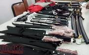 Mua súng ngắn, đạn, đao kiếm của Trung Quốc rồi về rao bán trên mạng... Facebook