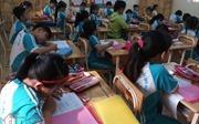 Học sinh tiểu học TP Hồ Chí Minh chỉ sử dụng tối đa 4 quyển vở