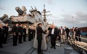 Rời Syria, chiến hạm Mỹ lần đầu cập cảng Israel sau 20 năm