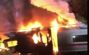 Tàu cao tốc cháy rực trời tại Đức, 500 hành khách tháo chạy