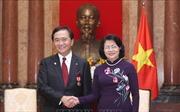 Phó Chủ tịch nước Đặng Thị Ngọc Thịnh tiếp Đoàn đại biểu tỉnh Kagakawa, Nhật Bản